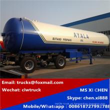 Vendas quentes 3 eixos LPG de 56000 litros tanque Semireboque