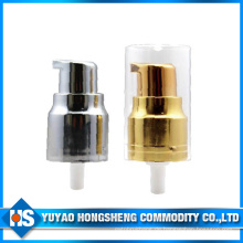 20mm UV Creme Pumpe für Hautpflegeprodukte mit transparenter Kappe