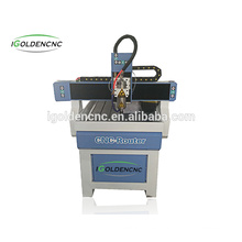 fresadora de madera 6090 fresadora / fresadora de banco / banco fresadora CNC enrutador máquina