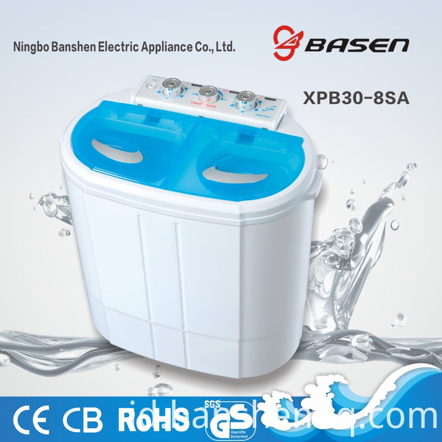 XPB30-8SA twin tub washing machine
