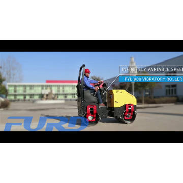High Performance Mini Vibratory Roller Tandem (FYL-900)
