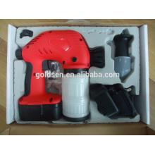Cordless 18V Ni-Cd bateria Powered mão elétrica Mini máquina de pulverização da pintura Wireless Chargeable Spray Gun