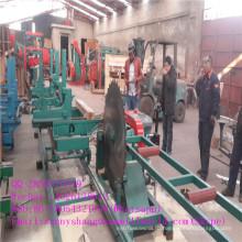 Портативный высокое качество дизельный лесопильный завод двигателя с перевозкой