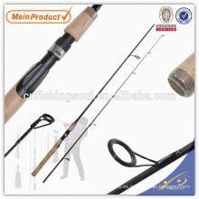 Sección SPR046 2, caña de pescar de giro en blanco de carbono
