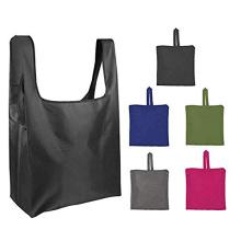 Washable Durable eco friendly waterproof grocery folding nylon foldable reusable shopping bag