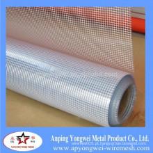 YW-fábrica de fornecimento de fibra de vidro Mesh Gridding pano / fibra de vidro malha de arame