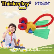 Lovely Animal Model DIY Toy pour enfants Tout-petits blocs de construction