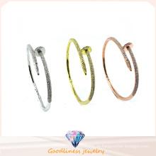 2016 Einfache Art Großhandelsschmucksachen 925 silbernes Armband (G41283)