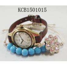 Dubai Popular Fashion Watch Bracelet with Plastic