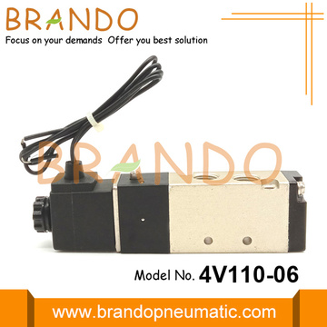 "1/8 ""4V110-06 5/2 Way Pneumatic Solenoid Valve 24VDC"