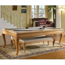 Дом использование Складной бильярдный стол 7 футов / 8ft/9 футов черный 8 резьба столовая Бильярд