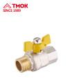 High quality FxM brass forging gas valve