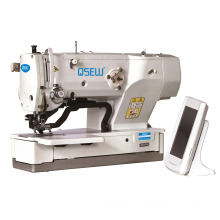 QS-1790S Electronic direct drive pattern design straight eyelet button holing industrial sewing machine