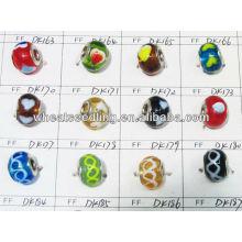 Perles de verre en chrome de couleur mélangée en gros dans Bluk LS-139