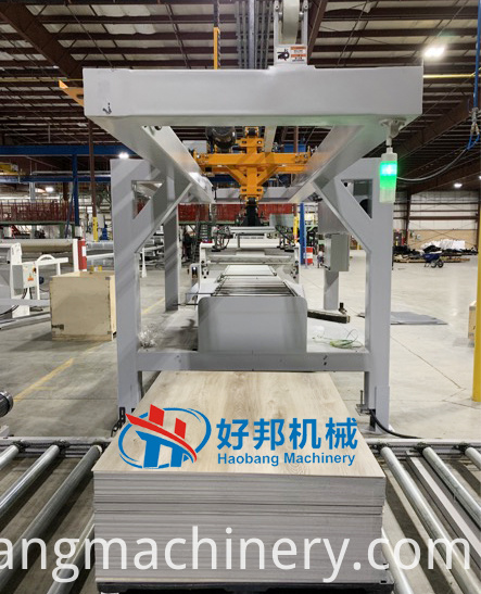 spc floor auto stacking machine