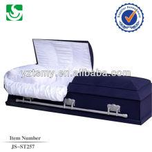 JS-ST257 Royal en acier cercueils