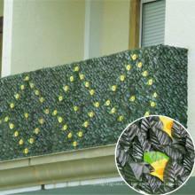 Сад зеленый искусственный самшита хедж конфиденциальности, стена, забор