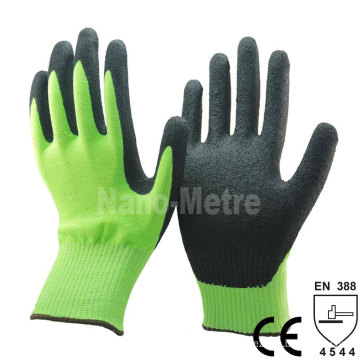 NMSAFETY HDPE knitted Working Cut Resistant Gloves