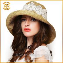 Bonnet de paille promotionnel à la mode de Fedora en Chine cubaine