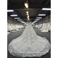 Beautiful Lace Appliqued Bridal Dresses With Off Shoulder Design A Line Wedding Gown 2018