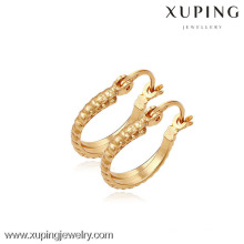 (90094)Xuping мода высокого качества 18k позолоченный серьги
