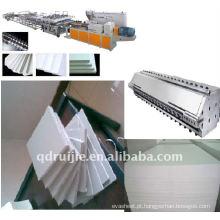 Linha de produção de placa de PVC Celuka