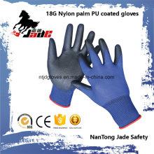 18g Blue Lind Palm Black Gant industriel revêtu de PU
