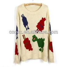 13STC5355 pullover crewneck ladies christmas sweaters