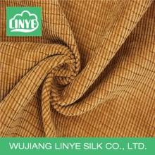 wujiang factory 11 wale polyester Corduroy fabric for pillow
