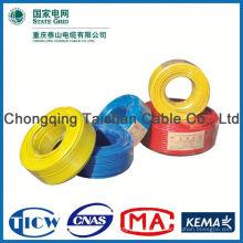Profesional OEM fábrica Fuente de alimentación de caucho aislado cable flexible