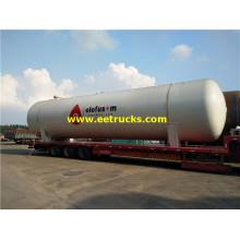 100000 Liters Industrial LPG Bullet Tanks