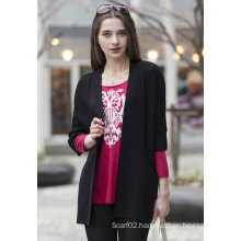 Ladies′ Cardigan Cashmere Sweater (1500002091)