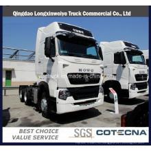 Компания sinotruk марки HOWO-T7h 440HP 6х4 грузовик с прицепом