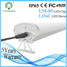 Iluminación de almacén 0.6m 1.2m 1.5m IP65 impermeable LED Triproof luz