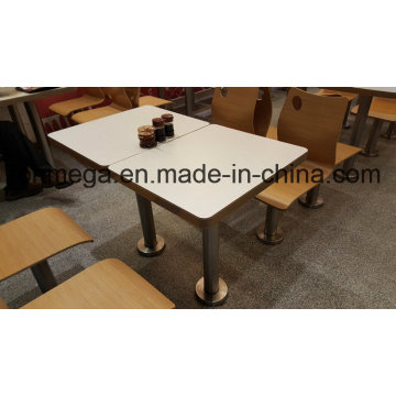 Fixed Chinese Restaurant Dining Table Set for 2 Persons (FOH-CMY01)