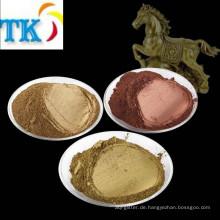 Metallisches Pigmentpulver / Kupferpulver aus Bronzepulver