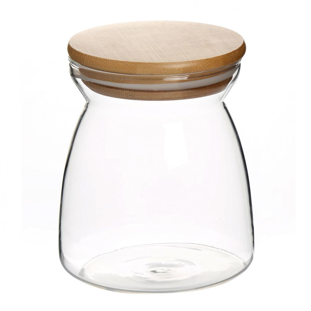 Airtight Borosilicate Candle Jar Glass