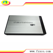 3.5'' hdd external enclosure support 3TB HDD