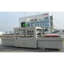 Máquina de solda de chapa quente para folha oca / palete