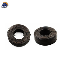 0.81mm SWG cable de hierro negro