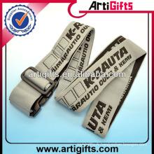 Polyester travel luggage/ tsa lock luggage belt