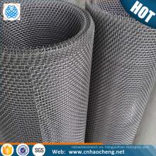 Malla de alambre prensada de acero inoxidable / malla de malla impermeable