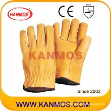 Перчатки для работы в технике безопасности на производстве из свиной кожи (22204)