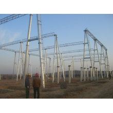 110kv Substation Structure Steel Pole