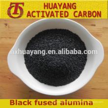 black fused alumina/black aluminum oxide powder/corundum for sandblsting abrasive