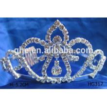 Fábrica de vida longa diretamente tiara e coroa para venda