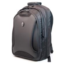 Unisexe 17,5 pouces Sac à bandoulière pour ordinateur portable Sac à dos noir Sac à dos Sacoche pour ordinateur de voyage en extérieur