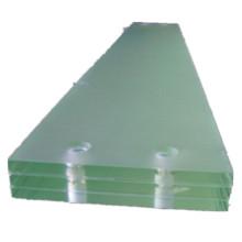 Precio de peldaños de escalera de vidrio laminado templado triplex