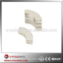 Hot Sale High Performance N42 Neodymium Arc Magnet