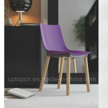Пластиковый стул с Бука ноги для ресторана быстрого питания (СП-UC496)